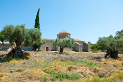 Moni Thari, Rhodes, Greece. Stock Photo