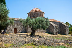 Moni Thari, Rhodes, Greece. Stock Photos