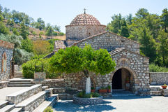 Moni Thari, Rhodes, Greece. Moni Thari on Rhodes island, Greece royalty free stock photo