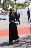 Monica Bellucci attends the 70th Anniversary photocall. During the 70th annual Cannes Film Festival at Palais des Festivals on May 23, 2017 in Cannes, France Stock Photos