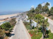 Monica-Küste Stockbilder