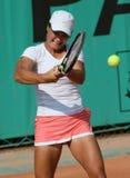 Monica NICULESCU (ROU) a Roland Garros 2010 fotografia stock