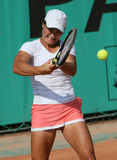Monica NICULESCU (ROU) at Roland Garros 2010 Stock Photo
