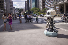 Monica Parade - Paulista Avenue - Sao Paulo Stock Image