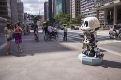 Monica Parade - Paulista aveny - Sao Paulo Fotografering för Bildbyråer