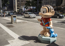 Monica Parade - Paulista aveny - Sao Paulo Royaltyfri Fotografi