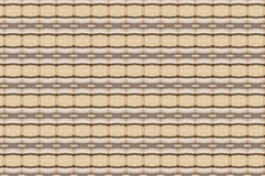 Monica. Textile pattern in a  beige mixture of colours with interesting geometries Royalty Free Stock Image