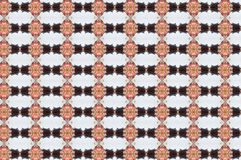 Monica 120. Textile pattern in a black and soft different colours  with interesting geometries Royalty Free Stock Images