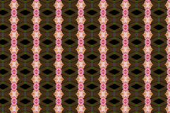 Monica 118. Textile pattern in a brown and soft different colours  with interesting geometries Royalty Free Stock Images