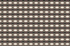 Monica 7. Textile pattern in a copper and golden  mixture of colours Royalty Free Stock Photos