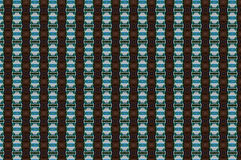 Monica 6. Textile pattern in a copper playful mixture of colours Royalty Free Stock Photo