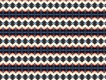 Monica 166. Textile pattern with different geometries Stock Photo