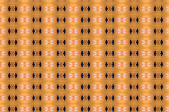 Monica 24. Textile pattern in a golden mixture of colours with interesting geometries Royalty Free Stock Photo