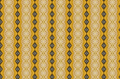 Monica 25. Textile pattern in a golden mixture of colours with interesting geometries Stock Photo