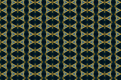 Monica 29. Textile pattern in a golden mixture of colours with interesting geometries Stock Images