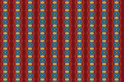 Monica 28. Textile pattern in a golden mixture of colours with interesting geometries Stock Photography