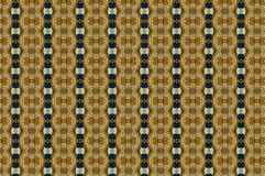 Monica 5. Textile pattern in a golden playful mixture of colours Stock Image