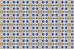 Monica 112. Textile pattern in a golden and soft different colours  with interesting geometries Stock Photo
