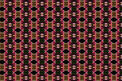 Monica 115. Textile pattern in a golden and soft different colours  with interesting geometries Stock Photo