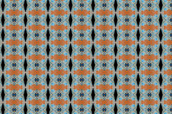 Monica 130. Textile pattern in golden and soft different colours  with interesting geometries Stock Image