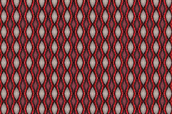 Monica. Textile pattern in a red and beige mixture of colours with interesting geometries Stock Image