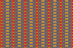 Monica 83. Textile pattern in a red golden mixture of colours with interesting geometries Stock Photography