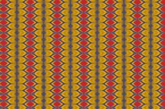Monica 84. Textile pattern in a red golden mixture of colours with interesting geometries Royalty Free Stock Image