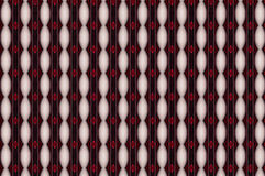 Monica. Textile pattern in a red  mixture of colours with interesting geometries Stock Photo