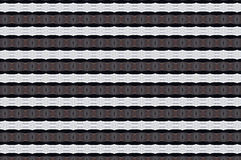 Monica 86. Textile pattern in a white , silver and black mixture of colours with interesting geometries Royalty Free Stock Images