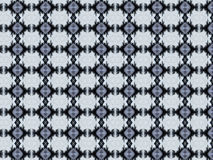 Monica 88. Textile pattern in a white , silver and black mixture of colours with interesting geometries Stock Photography