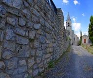 Monieux, Провансаль стоковая фотография rf
