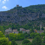 Monieux, de Provence Stock Foto's