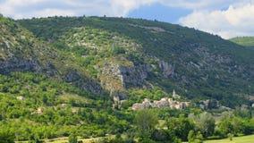 Monieux, Provence Image libre de droits