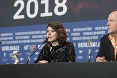 Monika Szumowska, ours argenté professionnel du grand jury chez Berlinale 2018 photos stock