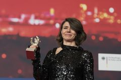 Monika Szumowska, urso de prata premiado do grande júri em Berlinale 2018 foto de stock