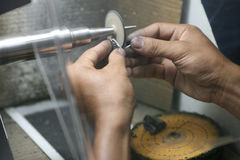 Monili d'argento Immagine Stock