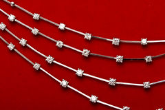Monili del diamante Immagini Stock