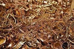 Monili dell'oro Immagini Stock