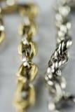 monili dell'oro 18k Fotografia Stock