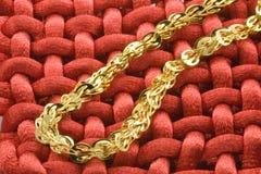 Monili dell'oro Immagine Stock Libera da Diritti