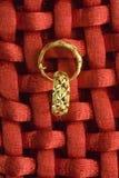 Monili dell'oro Fotografia Stock