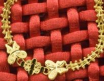 Monili dell'oro Fotografia Stock Libera da Diritti