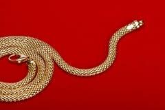 Monili dell'oro immagine stock