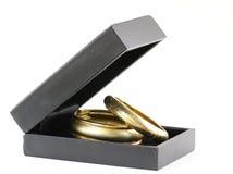 Monili dell'oro, braccialetti Fotografie Stock