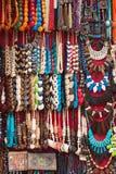 Monili di costume etnico egiziani Fotografia Stock