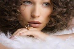 Monili e bellezza Fotografie Stock Libere da Diritti