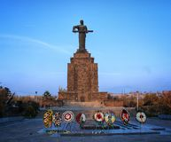 Mother Armenia monument royalty free stock image