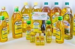 Monini products Royalty Free Stock Photos