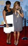 Monique Coleman και Ashley Tisdale Στοκ Φωτογραφίες