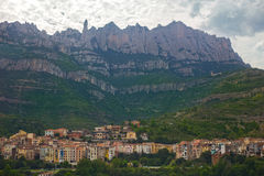 Monistrol de Montserrat. Catalonia, Spain Royalty Free Stock Photos